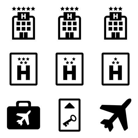 Hotel and travel Illustration