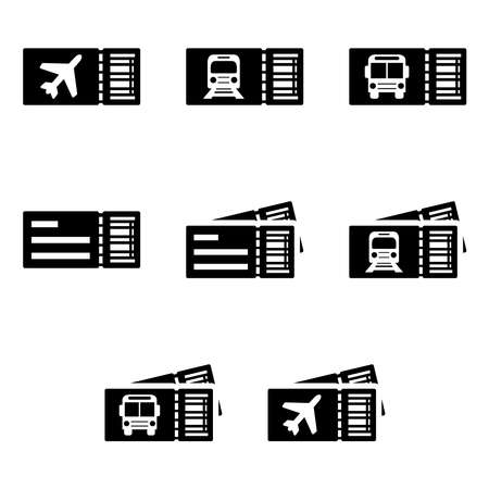 Travel tickets: airplane, train and bus