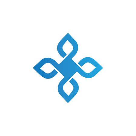 lucky wing logo, luck tattoo symbol 向量圖像