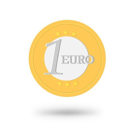 increasing: Money coin vector illustration, for your design Illustration
