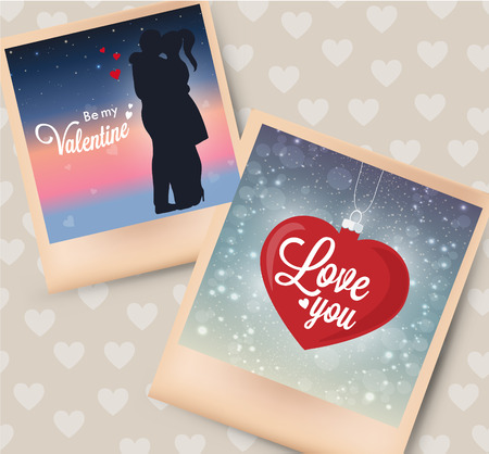 Vector photo card, great for your design