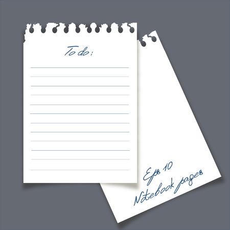 sticky notes: Sticky notes ontwerp.