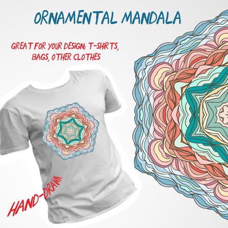 tshirt design: Stylish vector t-shirt design. Illustration