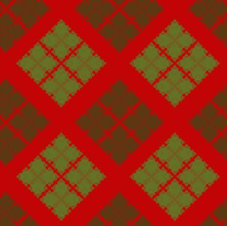 Beautiful textile pattern, seamless ornate Vector