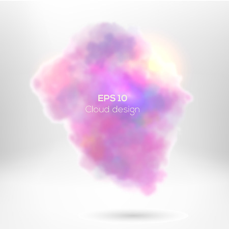 dissolution: Creative cloude smoke for your design.