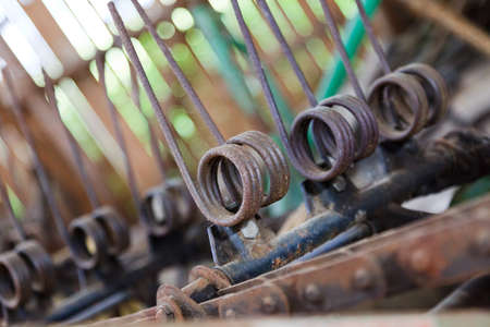 Old sowing machine in closeup Stock Photo - 11717129