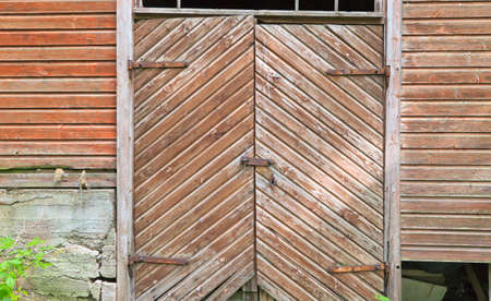 Old barns double doors