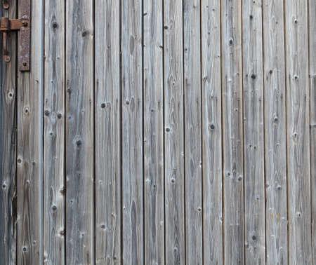 Old worn barn door photo