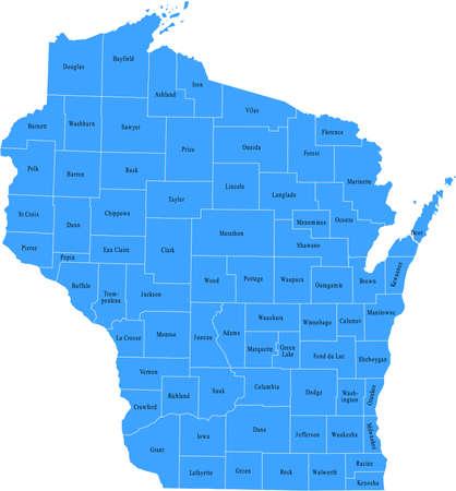 wisconsin: Wisconsin Map