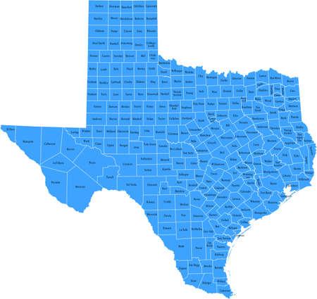 Texas Kaart