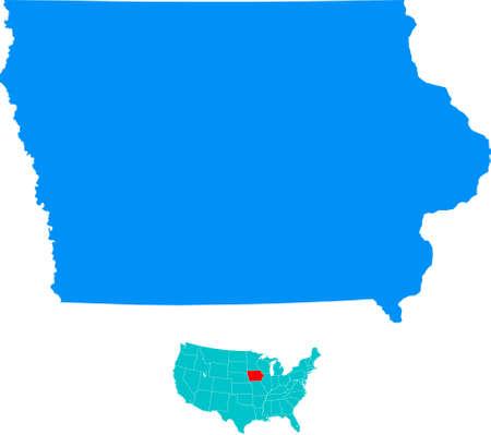 iowa: Iowa Map