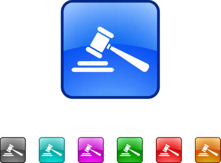 gavel icons Vector