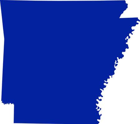 arkansas: Arkansas Map