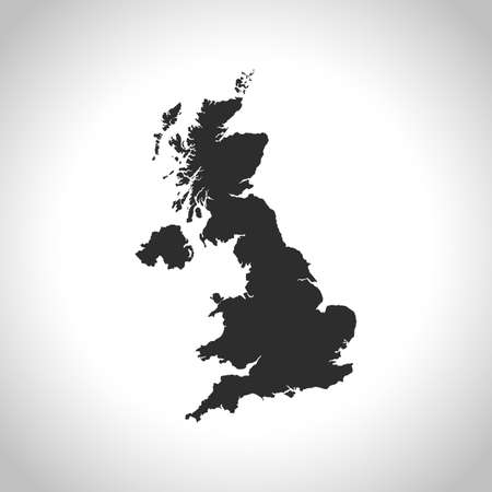 united kingdom: map of united kingdom