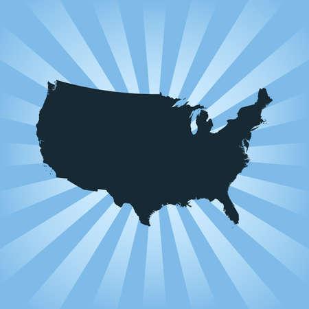 アメリカ 地図