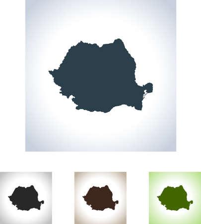 kaart van Roemenië