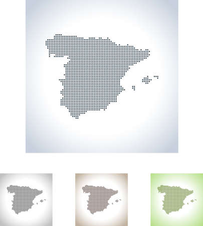 map of Spain 스톡 콘텐츠 - 99434245