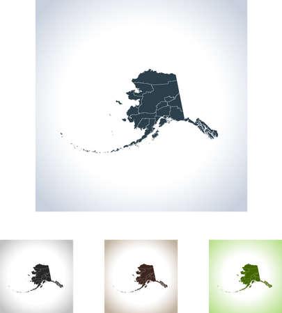 Map of Alaska icon.