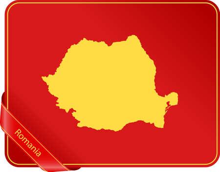 Map of Romania Zdjęcie Seryjne - 101030133