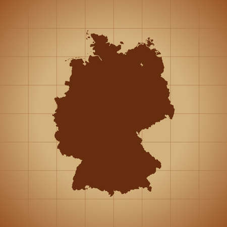 map of Germany 일러스트