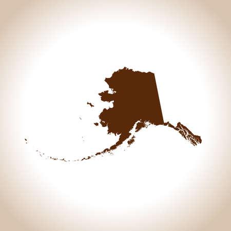 map of Alaska