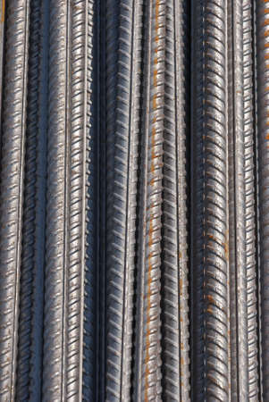 Stock Photo of Reinforcing steel armature construction  photo