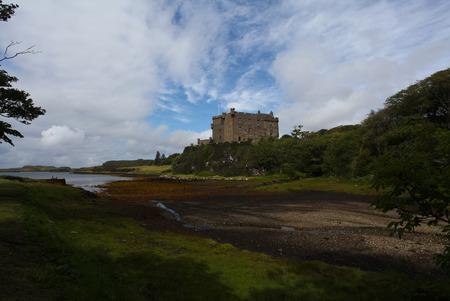 Old castle on Isle of Skye