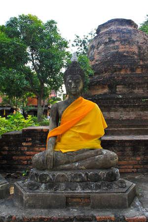 stone buddha: Stone Buddha Statue