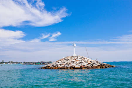 A lighthouse in Khao samet, Thailand Stock Photo - 12577145