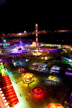 Supergiant Amusement Park Asia tour , THAILAND Stock Photo - 12444619