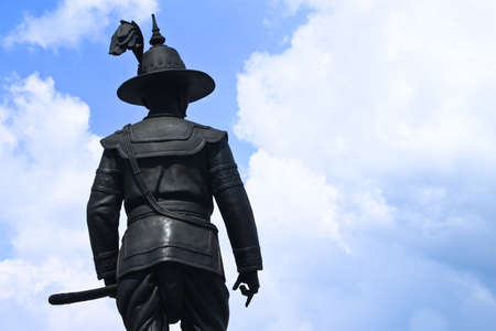 Statue of king Taksin