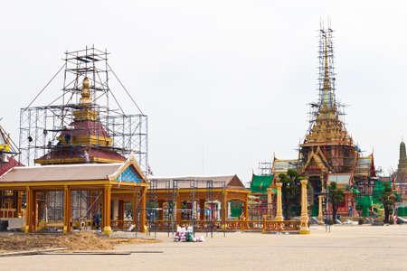 The Royal funeral pyre  of HRH Pricess Bejaratana Rajasuda of  Thailand Stock Photo - 12819106