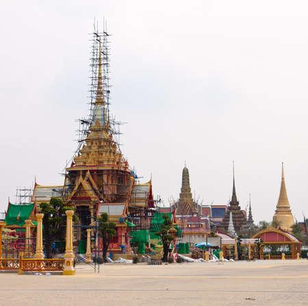 The Royal funeral pyre  of HRH Pricess Bejaratana Rajasuda of  Thailand Stock Photo - 12819081