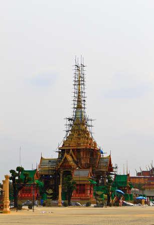 The Royal cremation ceremony  of HRH Pricess Bejaratana Rajasuda of  Thailand Stock Photo - 12819076