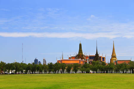 kaew: Wat phra kaew, Grand palace, Bangkok, Thailand