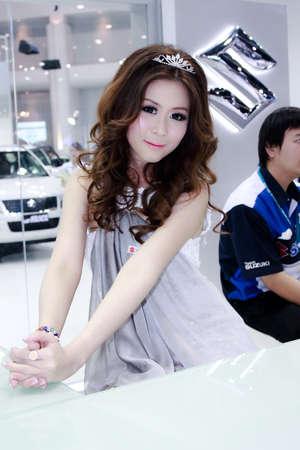 MODELS AT A BANGKOK MOTOR EXPO