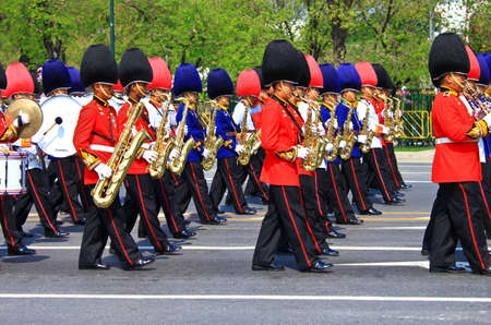 BANGKOK, THAILAND - APRIL 9: The Royal Cremation Ceremony of Prince Bejaratana Rajasuda Sirisobhabannavadi Editorial