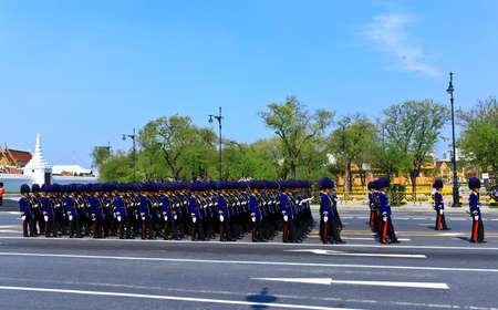 BANGKOK, THAILAND - APRIL 9: The Royal Cremation Ceremony of Prince Bejaratana Rajasuda Sirisobhabannavadi on April 9, 2012