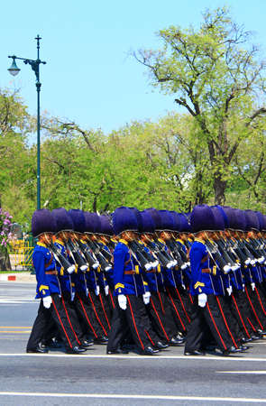 BANGKOK, THAILAND - APRIL 9: The Royal Cremation Ceremony of Prince Bejaratana Rajasuda Sirisobhabannavadi on April 9, 2012 Stock Photo - 13140304