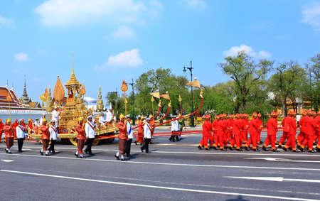 BANGKOK, THAILAND - APRIL 9: The Royal Cremation Ceremony of Prince Bejaratana Rajasuda Sirisobhabannavadi on April 9, 2012 Stock Photo - 13140267