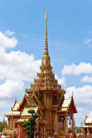 The Royal Crematorium in Bangkok Thailand Stock Photo - 13266643
