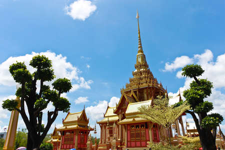 The Royal Crematorium in Bangkok Thailand