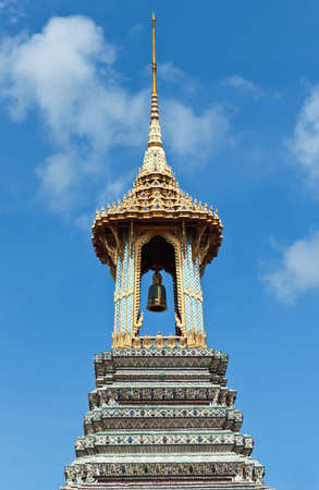Royal Bell Tower at Grand Palace, Bangkok, Thailand. photo