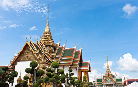 Traditional Thai architecture Grand Palace Bangkok photo