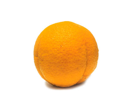 orange isolated on a white background photo