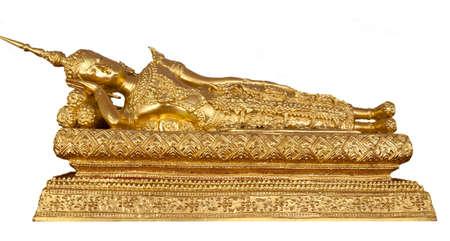 Thai Buddha Golden Statue. Buddha Statue in Thailand Stock Photo - 14488953