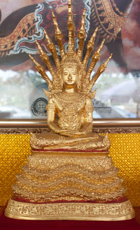 Thai Buddha Golden Statue. Buddha Statue in Thailand photo