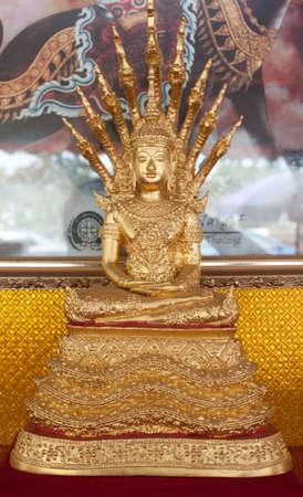 Thai Buddha Golden Statue. Buddha Statue in Thailand Stock Photo - 14567840