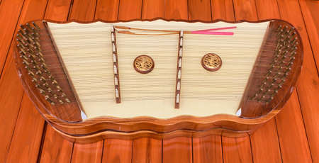 wrest: Thai wooden dulcimer musical instrument