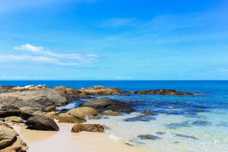 Dream beach in island of thailand photo